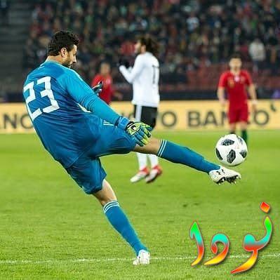 لاعب كرة القدم المصري محمد الشناوي