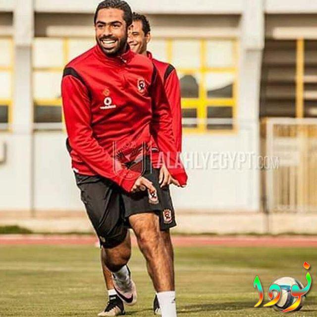 لاعب منتخب مصر أحمد فتحي