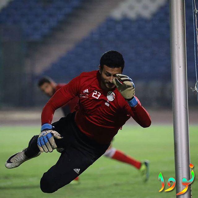 محمد الشناوي في أحدى المباريات