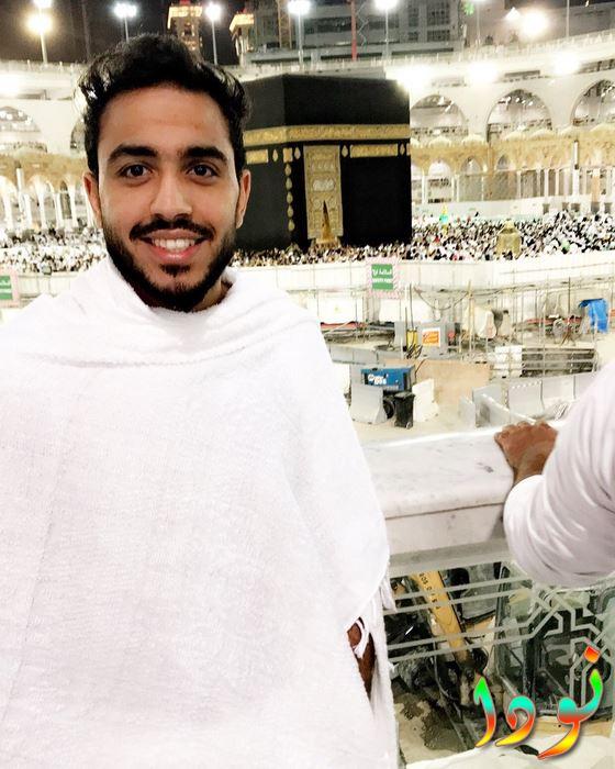 محمود كهربا أثناء تأدية العمرة