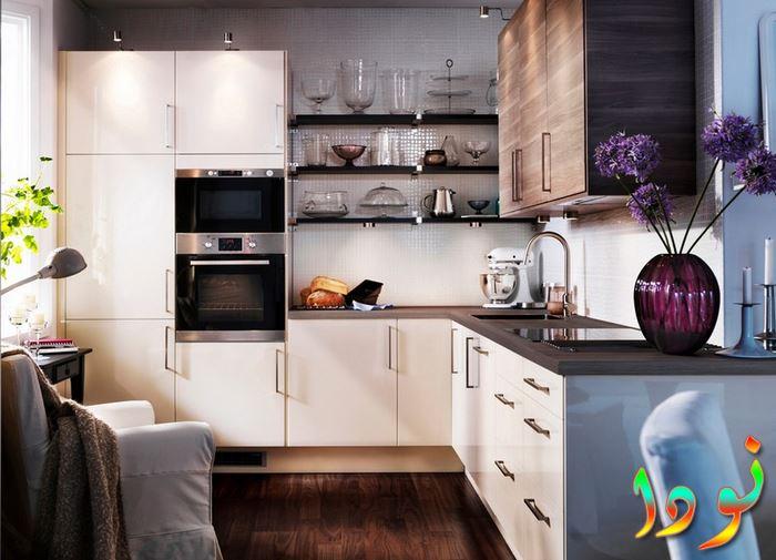 مطبخ مودرن متوسط الحجم