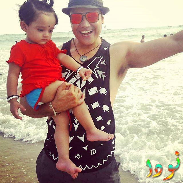 ياش تونك مع ابنته