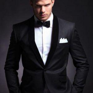 بدل رجالي تركي باللون الأسود الفاتح والغامق