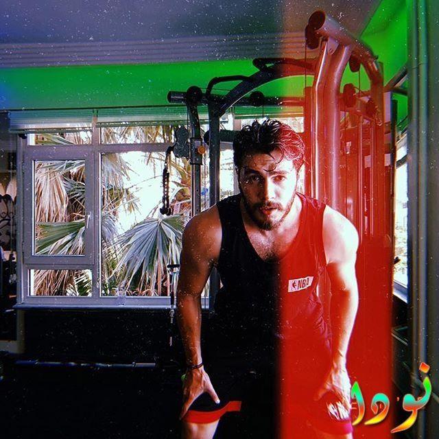 إسماعيل إيجي يمارس الرياضة