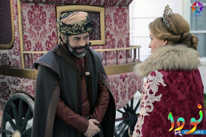 السلطانة أسماء مع خالد