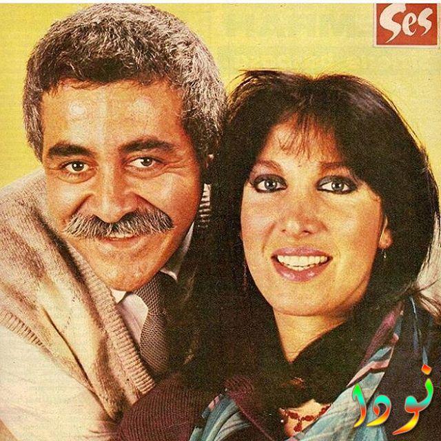 الفنانة التركية أويا بشار مع زوجها