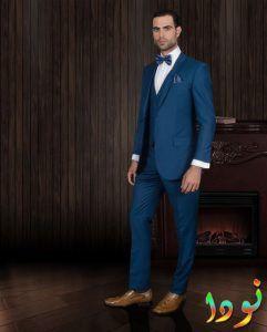 966045571 ... تصميمات وأحدث بدل زرقة. بدلة العريس لخطوبة 2018 و 2019