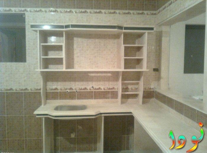 تصميم مطبخ صغير من الرخام