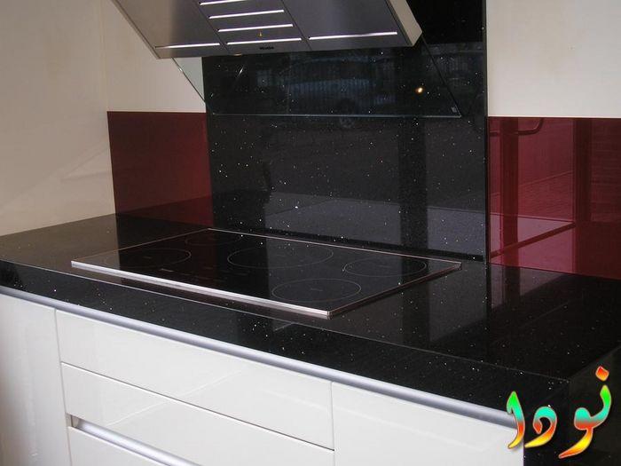 جزء من المطبخ من الجرانيت للبتوجاز المسطح