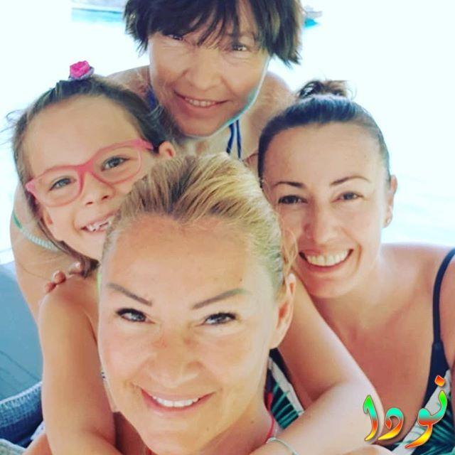 جوكتشا يانارداغ مع عائلتها