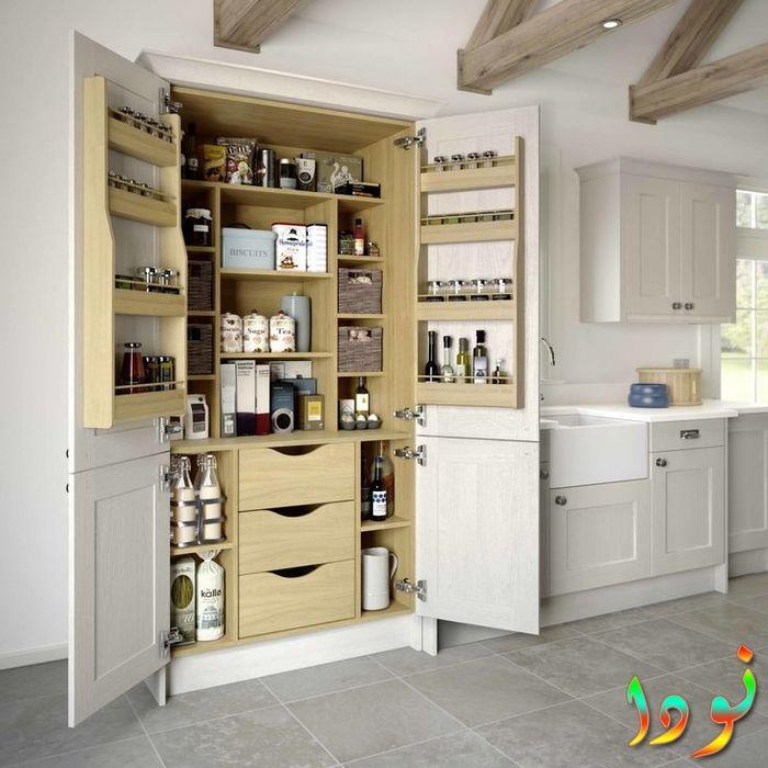 خزانة مطبخ للمساحات الضيقة