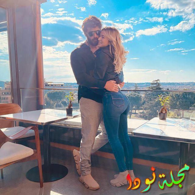 صورة جديدة تجمع جان يامان بحبيبته