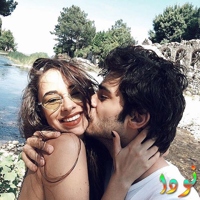 صورة جميلة وجديدة لبيركاي مع حبيبته