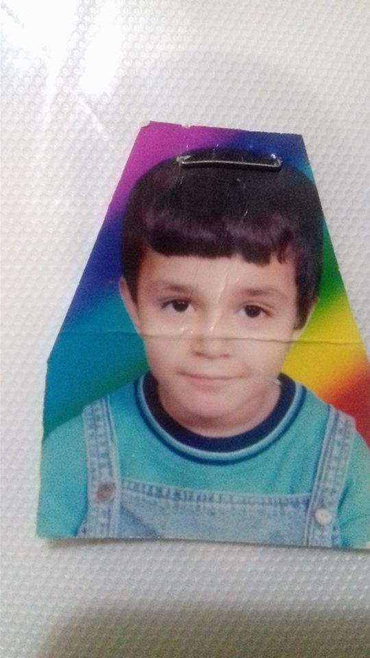 صورة لخالد الفايد وهو طفل صغير
