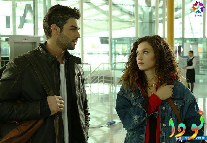 صورة من الحلقة الأولى من المسلسل