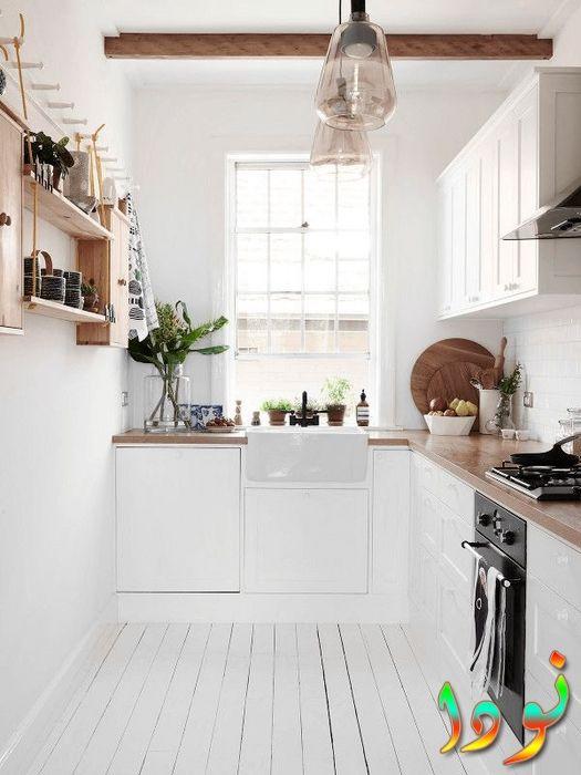 مطبخ صغير جدا للمطابخ المفتوحة على الصالة