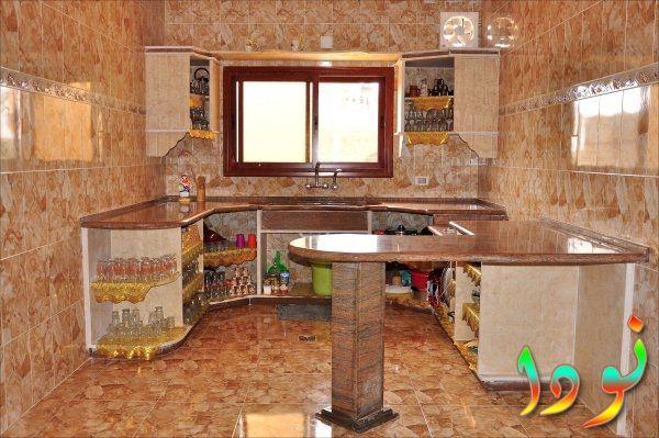 مطبخ كامل دورين من الجرانيت