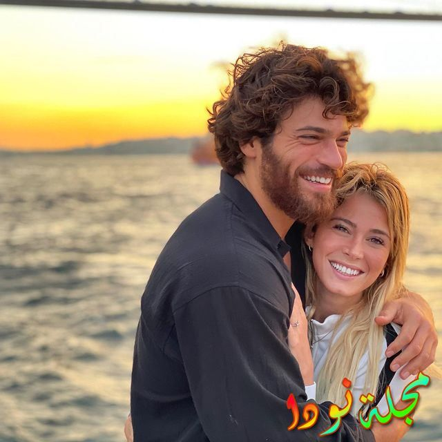 Can Yaman وحبيبته الإيطالية