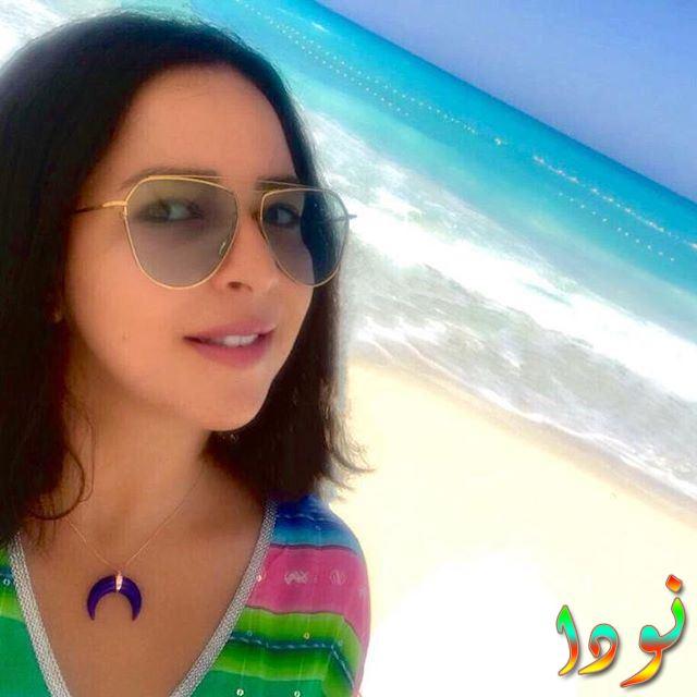 إيمي سمير غانم على البحر