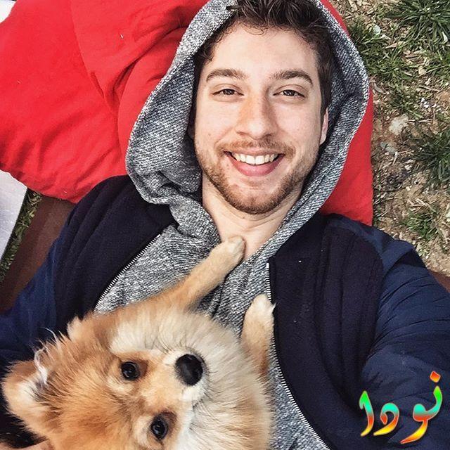 اتكو اتيش مع كلبه
