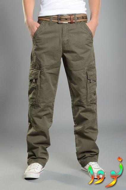 بنطلون ذات جيوب متعددة