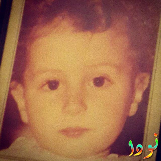 أحمد الفيشاوي وهو صغير