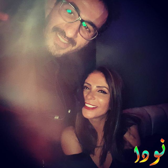 أحمد حلمي ومنى زكي