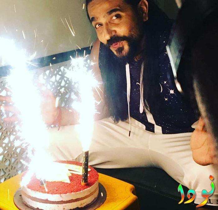 اشيش شارما يحتفل بعيد ميلاده