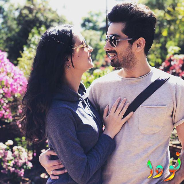 سنايا إيراني وزوجها