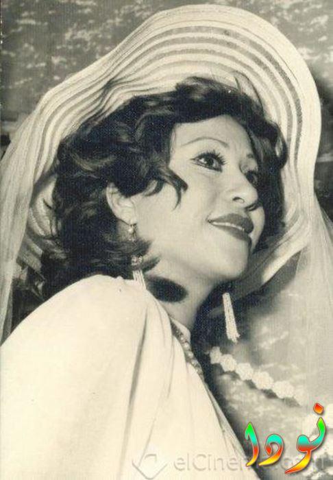 صورة قديمة للممثلة أمال رمزي