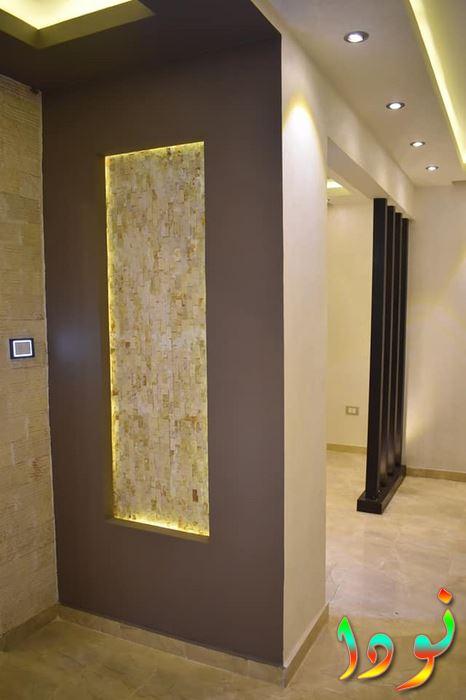 عمل ديكورات حوائط بالشقة حسب التصميم المطلوب