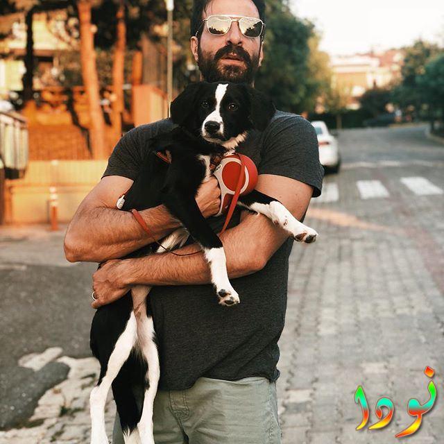 إسماعيل ديميرجي وكلبه
