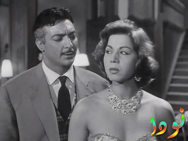 رشدي أباظة وسامية جمال