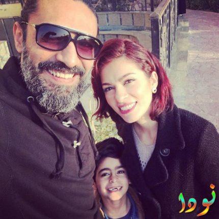 زوجة محمد علاء وابنه