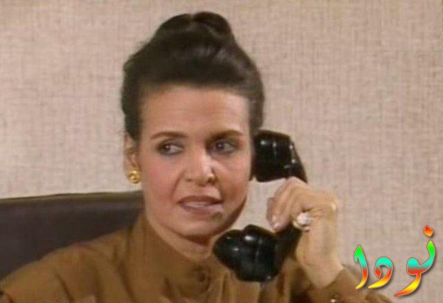 سميرة احمد داخل مسلسل