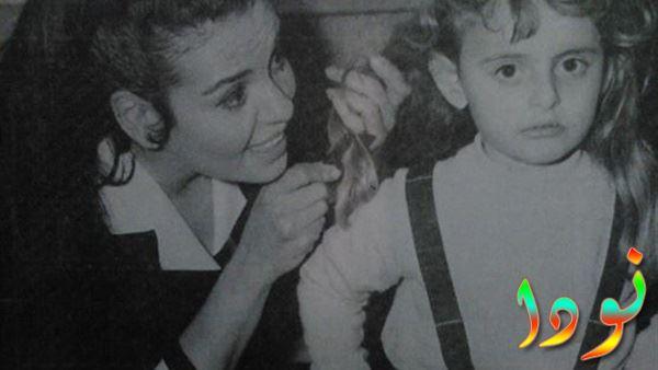 سميرة احمد وابنتها