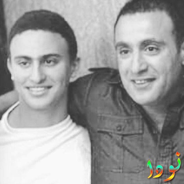 صورة جديدة للفنان أحمد السقا وابنه ياسين