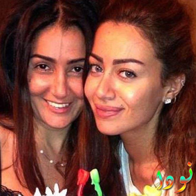 صورة جميلة للممثلة غادة عبد الرازق وبنتها