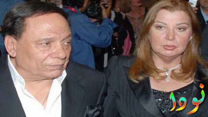صورة حديثة عادل امام وزوجته