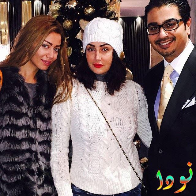 غادة عبد الرازق وبنتها وجوز بنتها