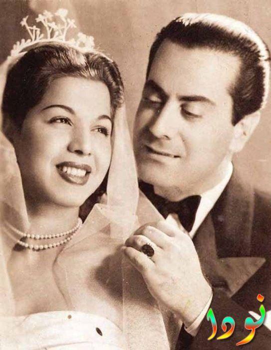 فريد الأطرش وسامية جمال