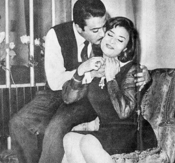 ليلى طاهر وزوجها يوسف شعبان