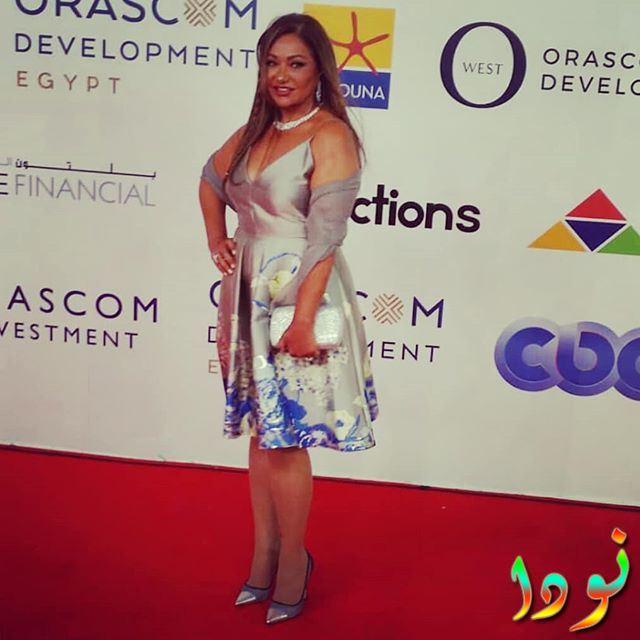 ليلى علوي من فاعليات مهرجان الجونة 2018