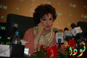 مؤتمر صحفي لوردة الجزائرية