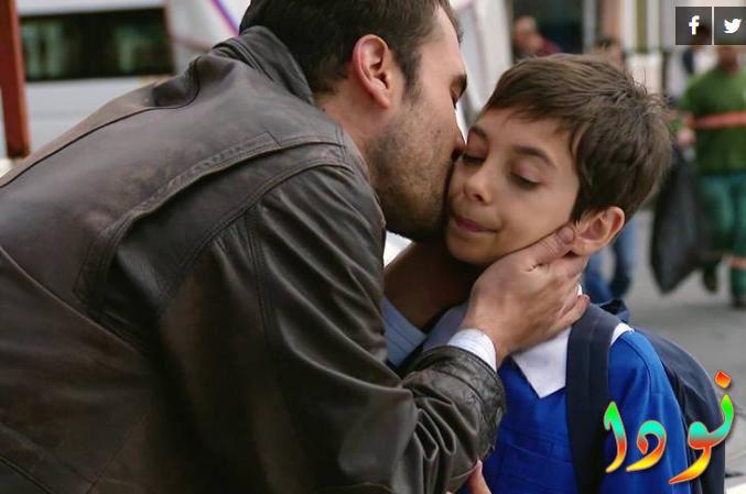 ميمو في أول يوم دراسة له وعمه عثمان يقوم بتوصيله