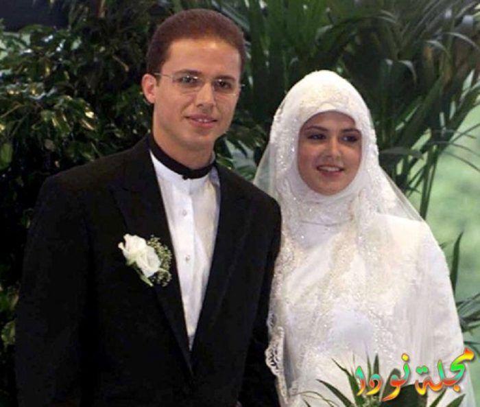 أحمد براق وزوجته الجميلة رمزي كور
