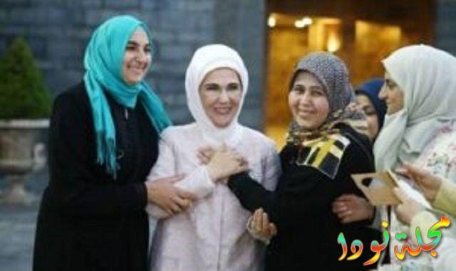 أمينة أردوغان تدعم المرأة