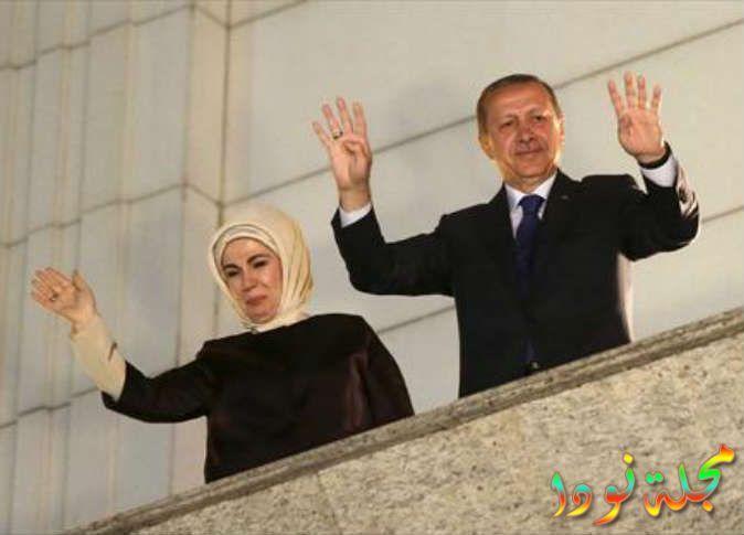 السيدة التركية الأولى أمينة رجب طيب أردوغان تعرف عليها