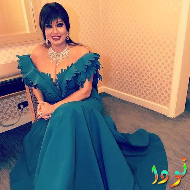 الممثلة فيفي عبده