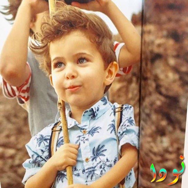 امير اوزيا كسير وهو طفل